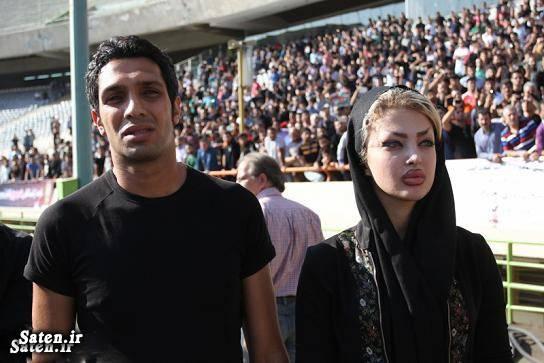همسر فوتبالیست ها همسر سپهر حیدری همسر بازیکنان بیوگرافی سپهر حیدری