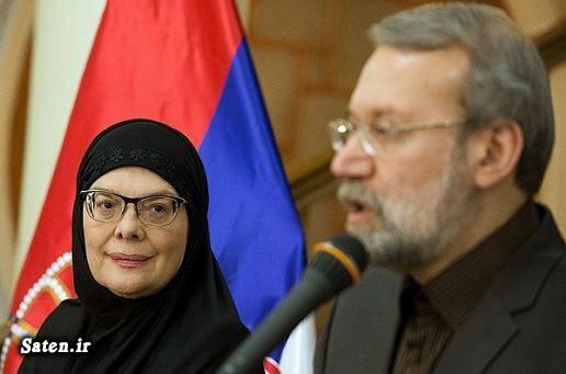 سوابق علی لاریجانی بیوگرافی علی لاریجانی