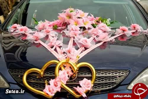 گرانترین ماشین عروس عکس خودرو عروسی تصادف خودرو عروسی بهترین ماشین عروس