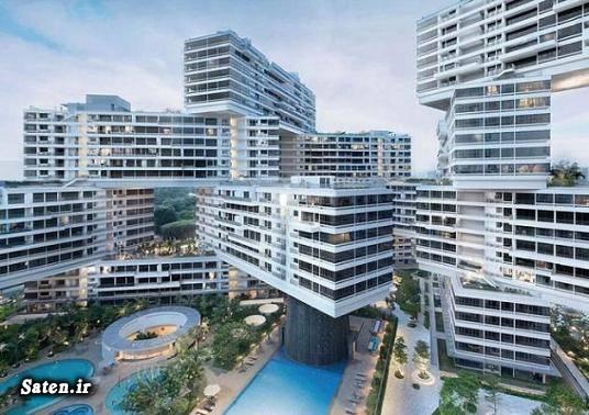 عکس معماری سفر به سنگاپور ساختمان زیبا توریستی سنگاپور بهترین ساختمان