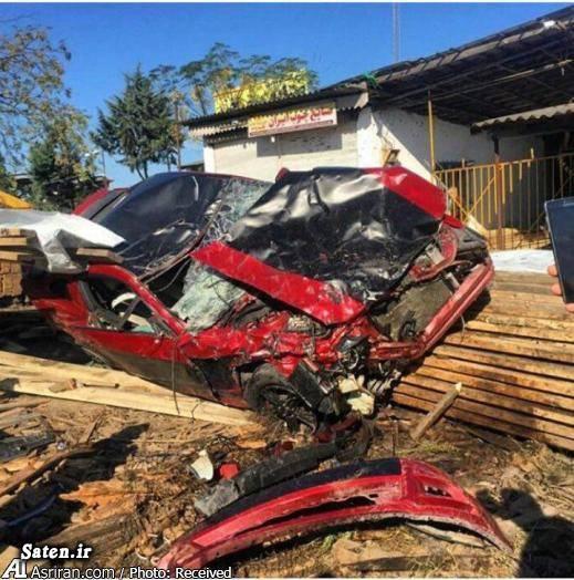 فورد موستانگ حوادث رشت تصادف خودرو لوکس تصادف خودرو گرانقیمت اخبار رشت