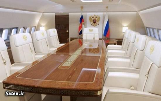 هواپیما رئیس جمهور ثروت ولادیمیر پوتین