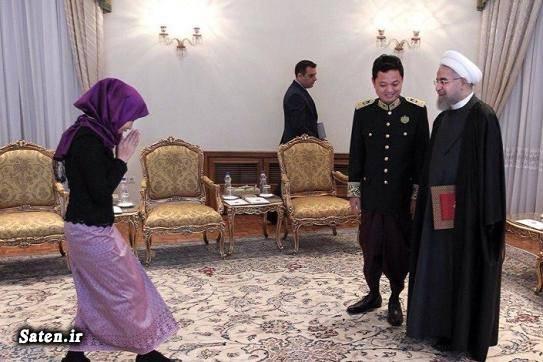 کامبوج عکس رئیس جمهور عکس حسن روحانی بیوگرافی حسن روحانی