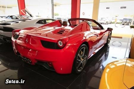 مشخصات خودرو فراری قیمت خودرو فراری فروش خودرو فراری فراری 458 اسپایدر