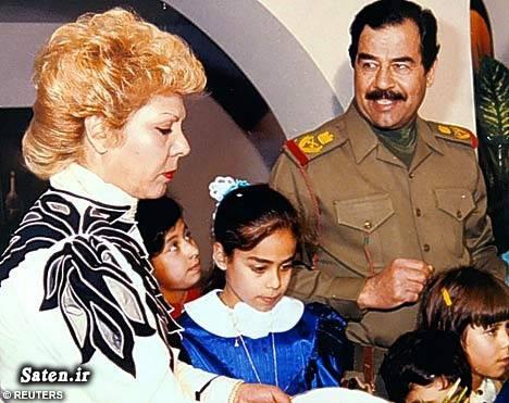 همسر صدام خانواده صدام