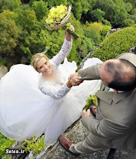 عکس عروس عروسی جالب عروس و داماد عجیب زیباترین لباس عروس آرایش عروس