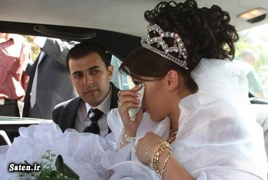 عکس عروس و داماد عکس عروس عروسی جالب رسم عجیب