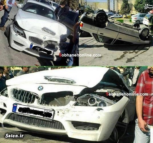عکس تصادف تصادف خودرو لوکس تصادف خودرو گرانقیمت تصادف پراید اخبار تصادف
