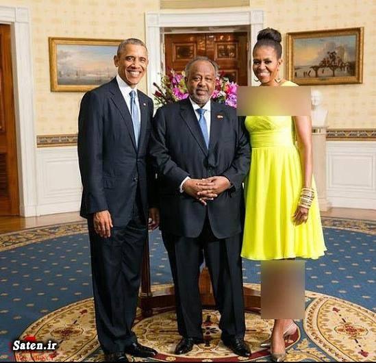همسر باراک اوباما جیبوتی