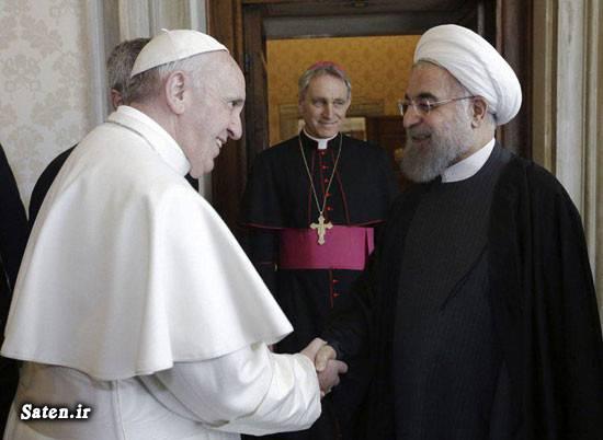 واتیکان سوابق حسن روحانی پاپ فرانسیس