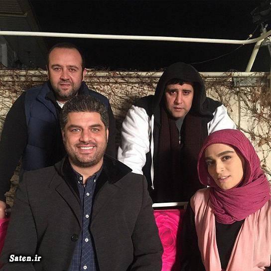 عکس جدید بازیگران سریال پشت بام تهران بیوگرافی سام درخشانی بیوگرافی بهرنگ توفیقی