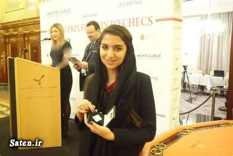 نابغه شطرنج بیوگرافی سارا خادم الشریعه استاد شطرنج اخبار شطرنج