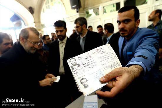صندوق رای سوابق علی لاریجانی بیوگرافی علی لاریجانی انتخابات مجلس