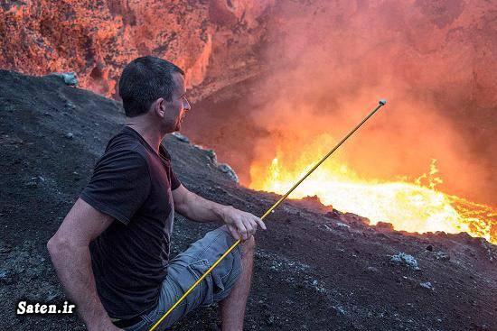عکس جالب عکس آتشفشان
