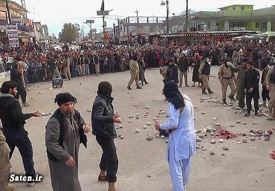 عکس سنگسار عکس داعش سنگسار زن جنایات داعش اخبار داعش