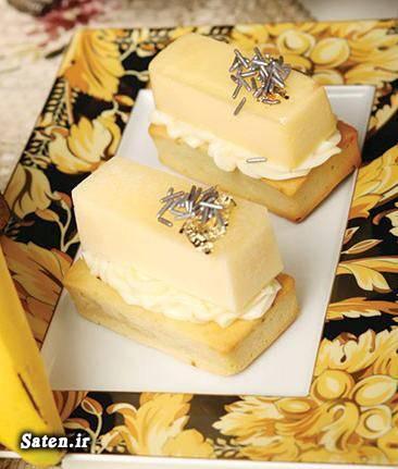 کرم کیک انبه طرز تهیه کیک طرز تهیه شیرینی شیرینی پزی بهترین سایت آشپزی آموزش کیک آموزش انواع شیرینی