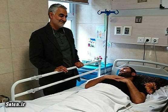 مدافعان حرم سوابق سردار سلیمانی بیوگرافی سردار سلیمانی