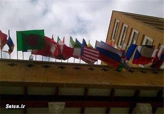 پرچم آمریکا ایران و آمریکا