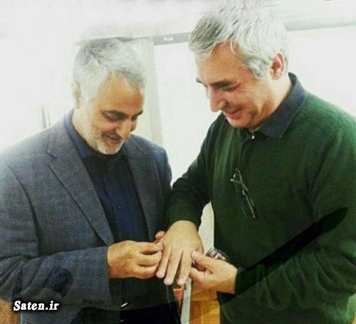 بیوگرافی سردار سلیمانی بیوگرافی حاج قاسم سلیمانی بیوگرافی ابراهیم حاتمی کیا