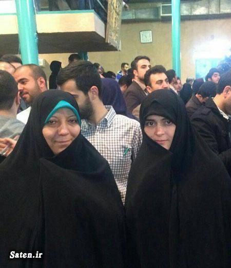 همسر سید حسن خمینی ندا بجنوردی سیده فاطمه بجنوردی دختر حسن خمینی خانواده سید حسن خمینی پسر حسن خمینی