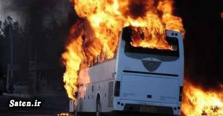 حوادث واقعی اخبار گناباد اتوبوس اسکانیا