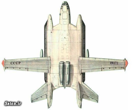 هواپیما روسی هواپیما جنگی جنگنده روسی Bartini Beriev VVA 14