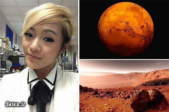 عکس زایمان سفر به مریخ Mars One Maggie Lieu