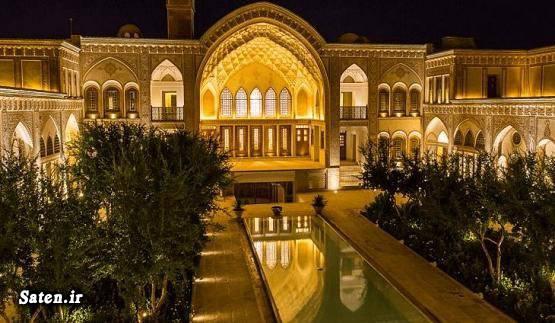 هتل سرای عامری ها هتل در کاشان خانه منوچهری ها خانه ایرانی کاشان توریستی کاشان Ameri House