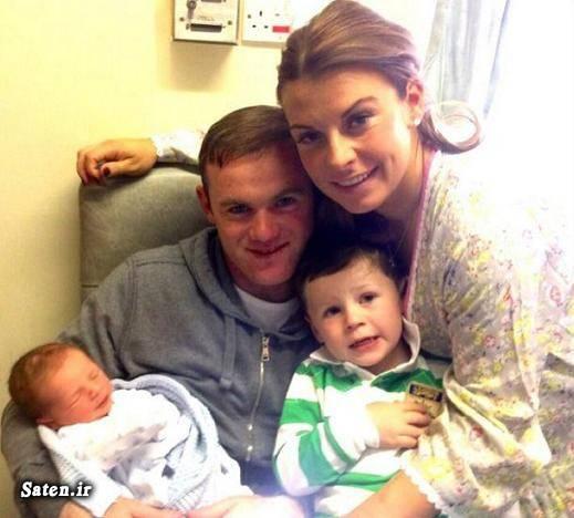 همسر وین رونی عکس زایمان خوردن جفت جنین بیوگرافی وین رونی Coleen Rooney