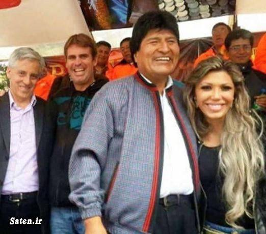 همسر رئیس جمهور نامزد رئیس جمهور معشوقه رئیس جمهور رئیس جمهور بولیوی