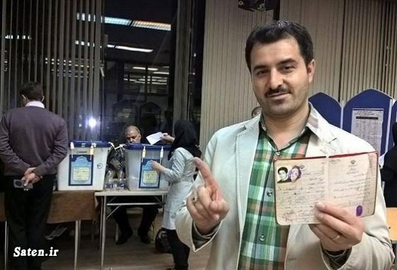 همسر احسان معراجی فر طلعت کرمی خبرنگار صدا و سیما بیوگرافی خبرنگاران بویگرافی احسان معراجی فر
