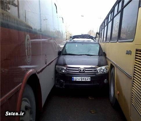 عکس تصادف خودرو عامل تصادف تصادف خودرو اخبار تصادف