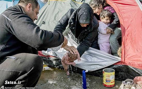 مهاجرت به یونان مهاجرت به اروپا عکس زایمان حقوق بشر آمریکایی حقوق بشر اخبار یونان اخبار مقدونیه