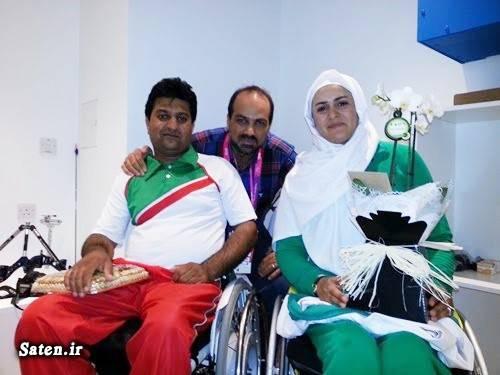 ورزش معلولان همسر زهرا نعمتی همسر رهام شهابی پور بیوگرافی زهرا نعمتی بیوگرافی رهام شهابی پور