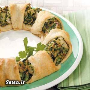 غذای خوشمزه دلمه مرغ بهترین سایت آشپزی آموزش غذای ایرانی آموزش آشپزی