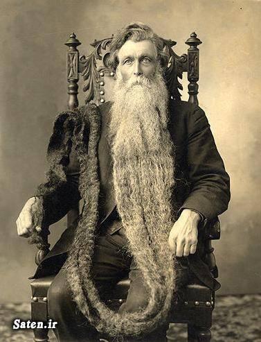 کتاب گینس ریش مردانه ریش بلند
