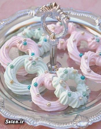 طرز تهیه شیرینی شیرینی مرنگ شیرینی عید شیرینی پزی آموزش انواع شیرینی