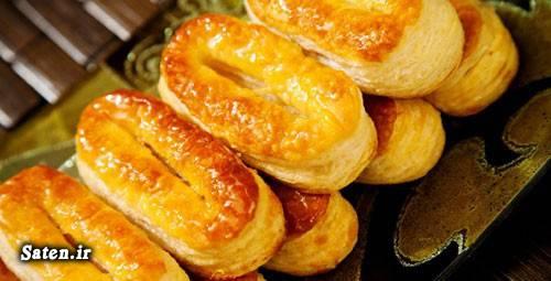 طرز تهیه شیرینی شیرینی عید شیرینی زبان و پاپیون شیرینی پزی شیرینی پاپیونی انواع شیرینی خانگی آموزش انواع شیرینی