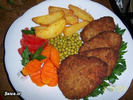 کتلت گوشت کتلت سیب زمینی طرز تهیه کتلت بهترین سایت آشپزی آموزش آشپزی