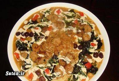 آموزش غذای محلی آموزش غذای ایرانی آموزش آشپزی آش هفت ترشی آش چهارشنبه سوری