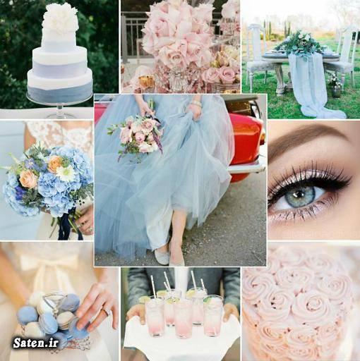 مد 95 مد 2016 لباس فشن شو لباس فشن رنگ سال 95 رنگ سال 2016 بهترین رنگ آرایش Serenity Rose Quart