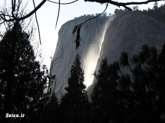 عکس آبشار شاهکار طبیعت زیباترین آبشار توریستی کالیفرنیا توریستی آمریکا