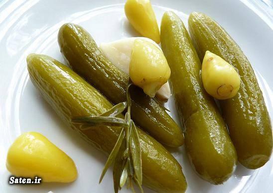 طرز تهیه خیارشور بهترین سایت آشپزی آموزش خیارشور آموزش انواع ترشی