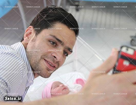 همسر کمال کامیابی نیا همسر فوتبالیست ها بیوگرافی کمال کامیابی نیا بازیکنان پرسپولیس Kamal Kamyabinia