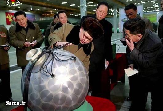 موشک هسته ای کلاهک هسته ای رهبر کره شمالی اخبار کره شمالی