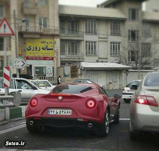 مشخصات آلفا رومئو قیمت خودرو قیمت آلفارومئو قیمت آلفا رومئو 4C اسپایدر
