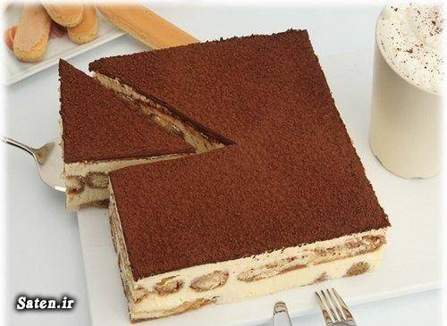 لیدی فینگر غذای ایتالیایی دسر تیرامیسو بهترین سایت آشپزی آموزش انواع دسر آموزش آشپزی Tiramisu