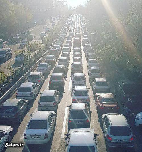 عکس تهران رانندگی در تهران اخبار تهران