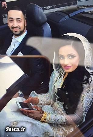 عکس تصادف زندگی در انگلیس روز دامادی حوادث عروسی اخبار انگلیس اجاره ماشین عروس