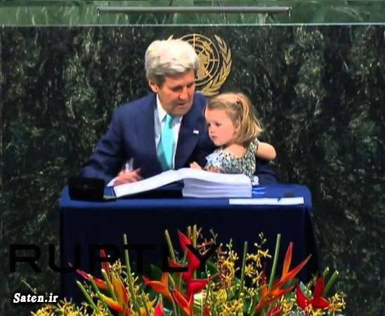 نوه جان کری کاریکاتور وزیر خارجه آمریکا دختر جان کری اخبار آمریکا